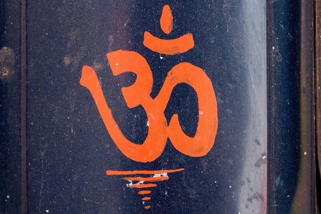Das Zeichen OM für die Mantra Meditation