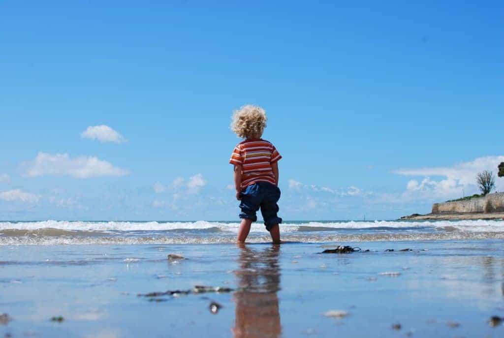 kurze Fantasiereise für Kinder am Strand