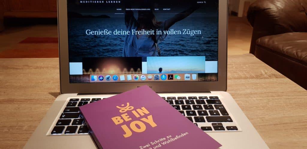 Be In Joy Meditationsbuch