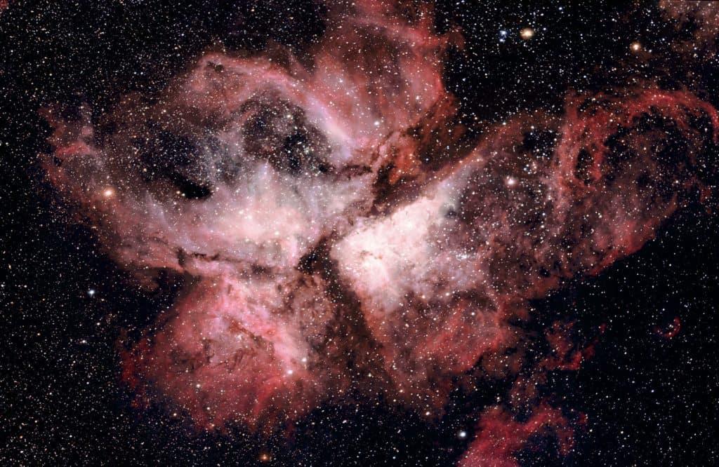 Bild einer Sternengalaxie