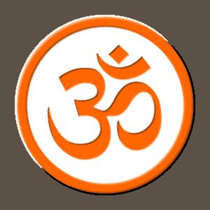 Om Zeichen für die Mantra Meditation