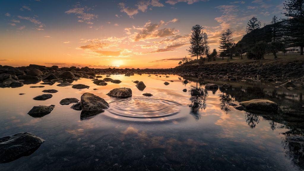 Wasser ist das Element des Sakralchakras