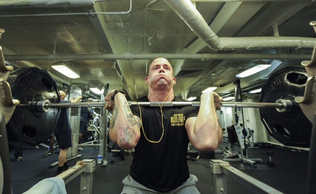 Gewichtheben zum Frustabbau
