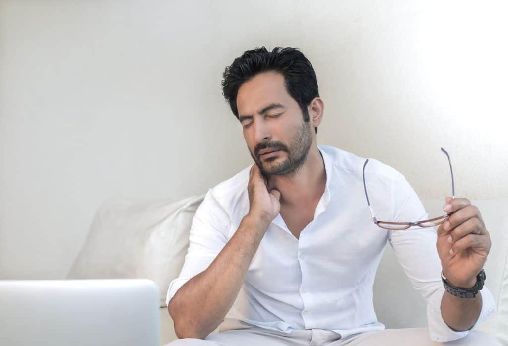 progressive Muskelentspannung bei Nackenschmerzen