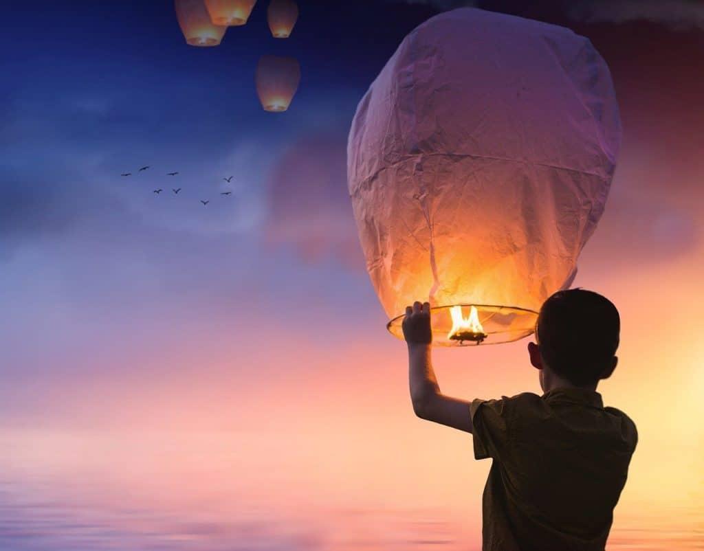 Meditationen für Kinder - die Ballonatmung
