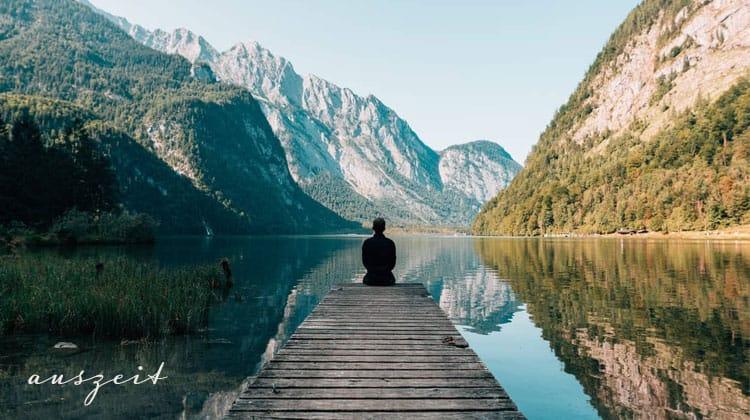 wunderschoene Bilder von Meditierenden