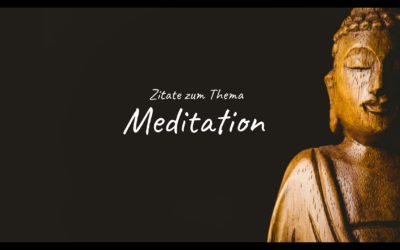 Zitate zum Thema Meditation (Video)