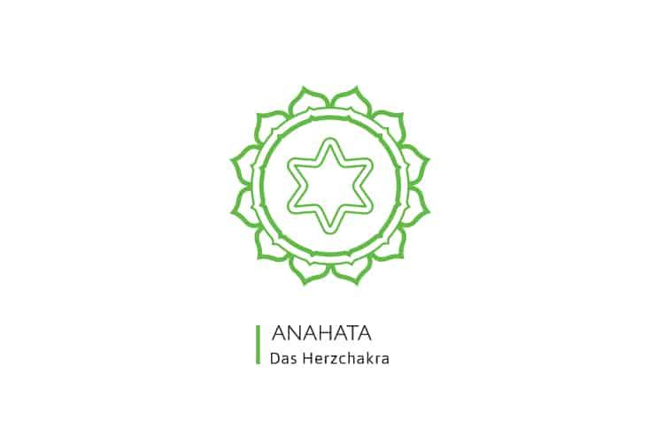 Chakren-Farben-Anahata-Herzchakra