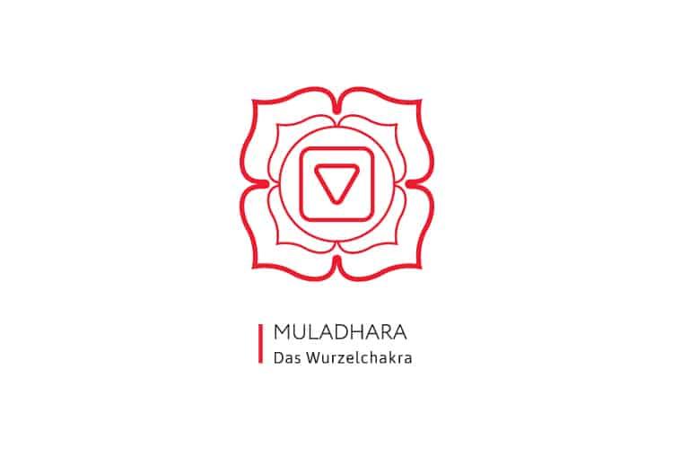 Chakren-Farben-Muladhara-Wurzelchakra