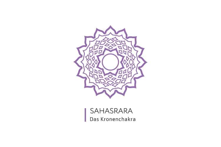 Chakren-Farben-Sahasrara-Kronenchakra